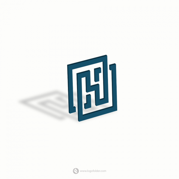 Animated letter H logo