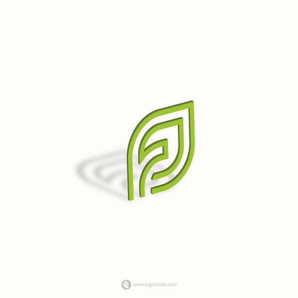 letter JF logo